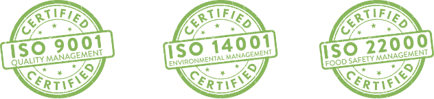Logo des certifications ISO