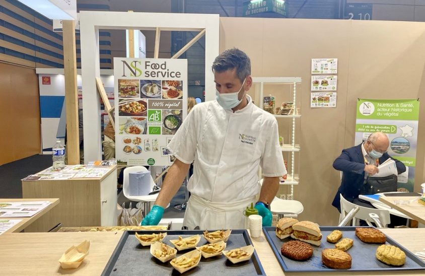 SIRHA Lyon 2021 Stand atelier culinaire