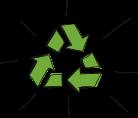 Illustration contenant le symbole du recyclage